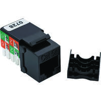 Excel Category 5e (UTP) Keystone Jack RJ45 - Black (24-pack)