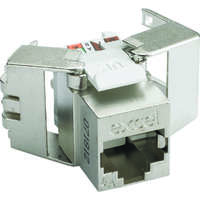 Excel Category 6A FTP Low Profile Keystone Jack - Toolless