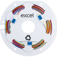 Enbeam Fibre Pigtail OS2 9/125 LC/UPC 12-colour...
