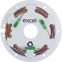 Enbeam Fibre Pigtail OS2 9/125 LC/APC 12-colour pack (TIA 598) - 2m