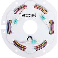 Enbeam Fibre Pigtail OM3 50/125 LC/UPC 12-colour pack (TIA 598) - 2m