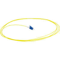 Enbeam Fibre Pigtail OS2 9/125 LC/UPC Yellow 12-pack - 1m