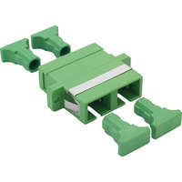 Enbeam SC/APC Duplex Adaptor Singlemode - Green (6-pack)