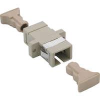 Enbeam SC Simplex Adaptor Multimode - Ivory (6-pack)