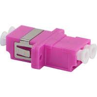 Enbeam LC Duplex Adaptor Multimode - Rose (5-pack)
