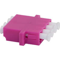Enbeam LC Quad Adaptor Multimode - Rose