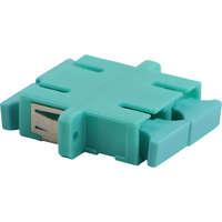 Enbeam SC Duplex Adaptor Multimode - Aqua