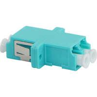 Enbeam LC Duplex Adaptor Multimode - Aqua