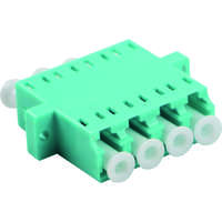 Enbeam LC Quad Adaptor Multimode - Aqua (5-pack)