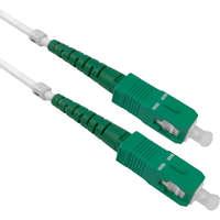 Enbeam OS2 Fibre Optic Patch Lead SC/APC-SC/APC G657-B3 LS0H White 1m