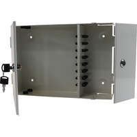 Enbeam 2 Door Lockable Wall Mounted Enclosure -...