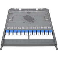 Enbeam HD 12P-24F-LC-OS2 Cassette - Loaded with Duplex LC Adaptors