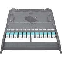 Enbeam HD 12P-24F-LC-OM3 Cassette - Loaded with Duplex LC Adaptors