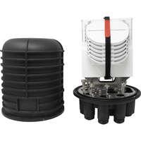 Enbeam 96 Fibre Optic Splice Closure (FOSC) with Mechanical Seals (Dome Type)
