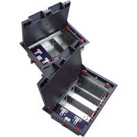 Excel 4-Compartment Floor Box (including 1...