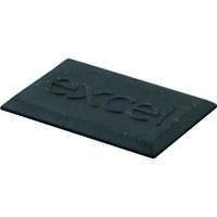Excel LJ6C Black Rubber Blank - (Pack of 10)