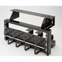 Excel 4U Patch Rack - Black