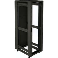 Environ CR600 20U Rack 600x600mm Glass (F) Steel (R) N/Panels No/Mgmt Black