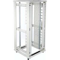 Environ CR800 42U Rack 800x800mm No Door (F) No Door (R) N/Panels F/Mgmt Grey White