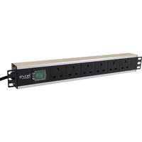 Excel 6-way Horizontal PDU - 6x UK sockets, UK...