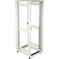 Environ CR600 24U Rack 600x600mm No Door (F) No Door (R) N/Panels No/Mgmt Grey White