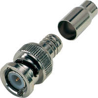 BNC Quick Fit Crimp Plug to Suit RG59/RG62/URM70