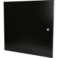 Steel front door for 12U Environ Wall Racks - Black