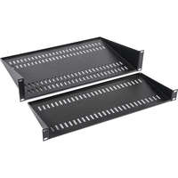 190mm Deep Modem/Cantilever Vented Shelf 1U -...