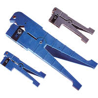 Excel Peg Style Jacket Stripper, 6.4-14.3mm cable diameter (blue handle)