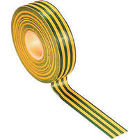 Excel 19mm PVC Tape Green/Yellow