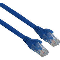 Excel Category 6 Patch Lead U/UTP Unshielded LS0H Blade Booted 1m - Blue
