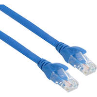 Excel Category 6 Patch Lead U/UTP Unshielded LS0H Blade Booted 2m - Bright Blue