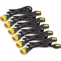 APC C13 to C14 Locking Power Cord Kit x6 1.2m