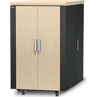 NetShelter CX 24U Secure Soundproofed Server...