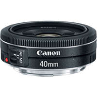 Canon, 40mm, f/2.8, Auto-Iris |  Recommended...