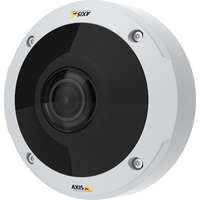 12 MP outdoor-ready dome with 360° panoramic view and IR illumination