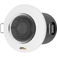Ultra-discreet, recessed-mount 3 MP fixed mini dome