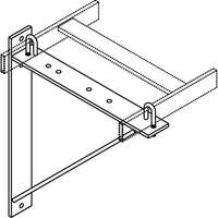 TRIANGULAR SUPPORT BRACKET; BL