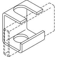 Slotted Support Bracket - Gold