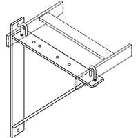 TRIANGULAR SUPPORT BRACKET-WHT