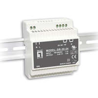 30W 24VDC Industrial Power Supply, DIN-rail -20...