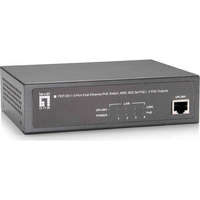 5-Port Fast Ethernet PoE Switch, 802.3at/af PoE, 4 PoE Outputs, 65W