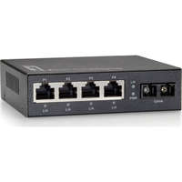 5-Port Fast Ethernet Switch, 1 x SC Multi-Mode Fiber
