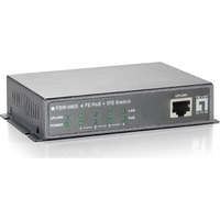 5-Port Fast Ethernet PoE Switch, 802.3af PoE, 4 PoE Outputs, 61.6W