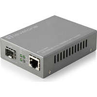 RJ45 to SFP Managed Fast Ethernet Media Converter