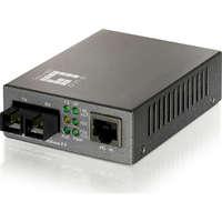 RJ45 to SC Fast Ethernet Media Converter,...