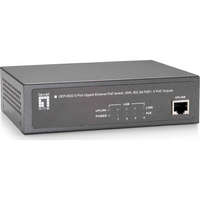 5-Port Gigabit PoE Switch, 65W, 802.3at/af PoE, 4 PoE Outputs