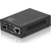 RJ45 to SFP Gigabit Media Converter, PoE PD