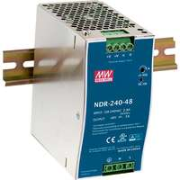 240W 48VDC Industrial Power Supply, PoE Ready...