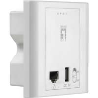 N300 PoE Wireless Access Point, In-Wall Mount, Controller Managed
